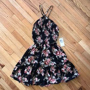 NEW B. DARLIN - Floral Print Summer Dress - Sz 1/2